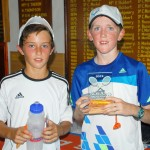 Winner of Key health U 12 singles